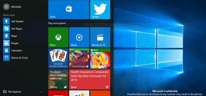 Windows 10 Build 14271 et 14267.1004 : deux versions Publiées ensemble