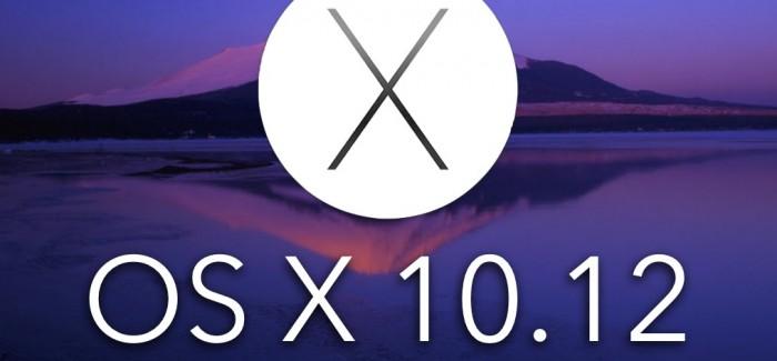 Mac OS X 10.12 pourrait être supporté par Siri