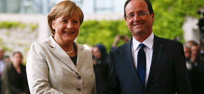 Hollande et Merkel appuient l'adhésion de l'Ukraine dans l'UE